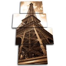 Eiffel Tower Vintage Architecture - 13-0047(00B)-MP04-PO